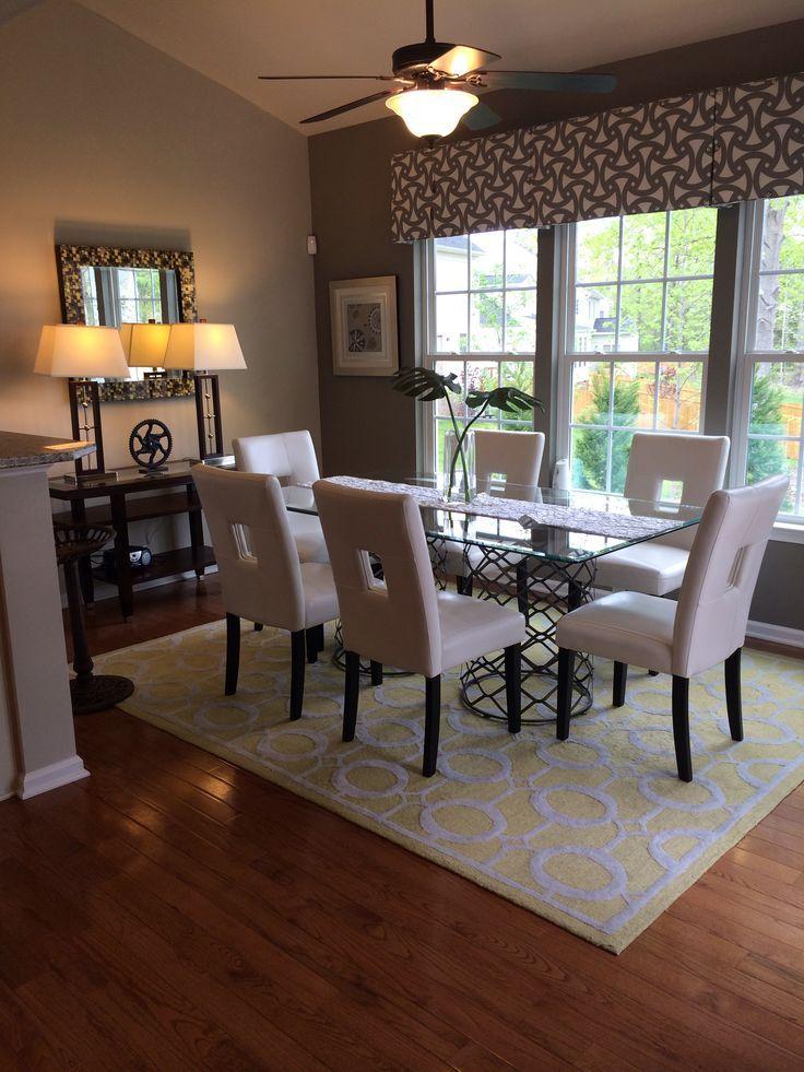 Ryan Homes Decorated Model Sunroom Breakfast Room Home