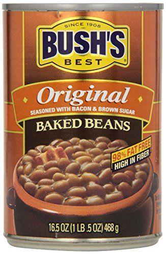 Bushs Best Original Baked Beans  165 Ounce 6 Pack ** For more information, visit image link.