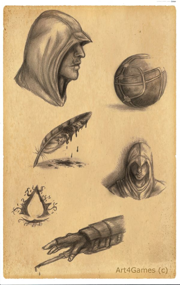 Assassin's Creed : Sketches by Art4Games