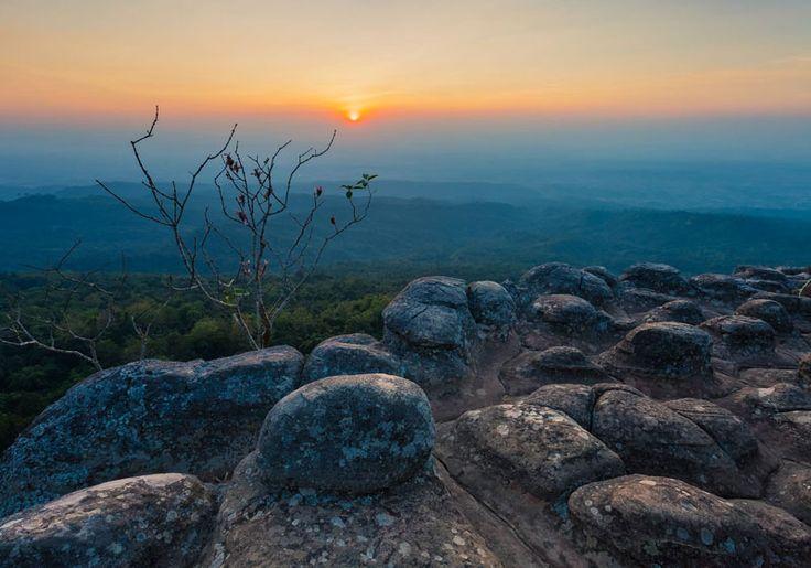 Phu Hin Rong Kla National Park : Phitsanulok, Thailand
