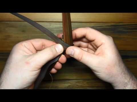 Raranga Putiputi - How to make a Rose out of Flax with one strip - YouTube