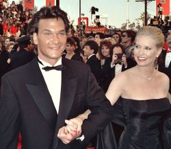 Patrick Swayze and his wife Lisa Niemi were together since they were teens! A beautiful, romance story: From the article: Patrick Swayze Biography: http://www.squidoo.com/patrick-swayze-biography