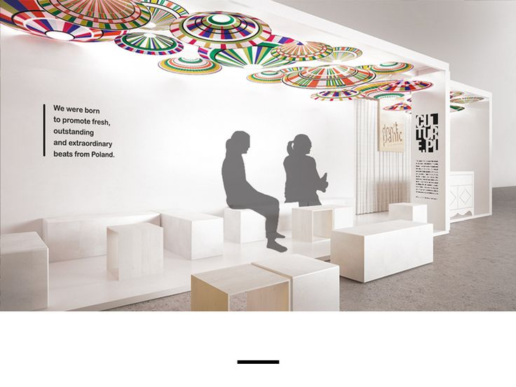 WOMEX 2014 / The stand attracted lot of attention. The visitors could not only have a conversation with polish folk music artists, but also hear their music live, when the stand spontaniously transformed into a music scene.
