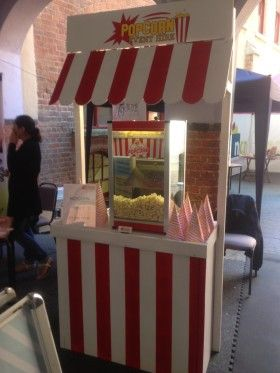Our Stylish Popcorn Stand