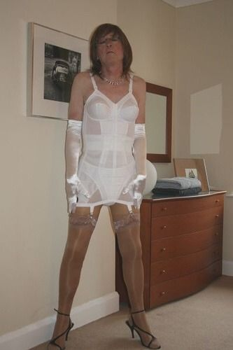 girdle crossdressed in