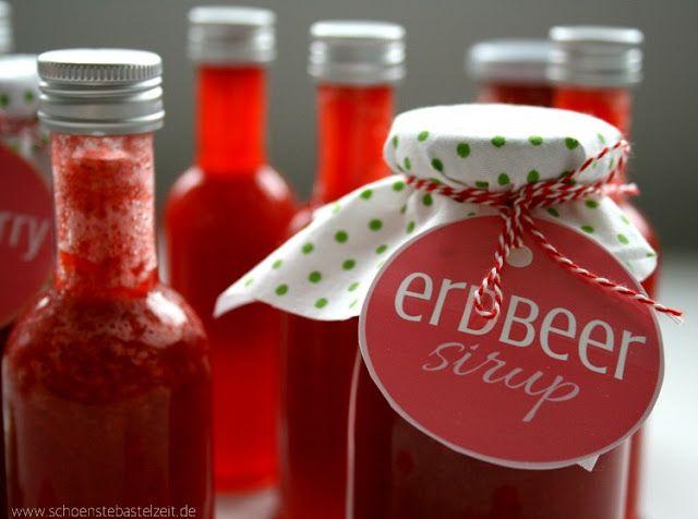 3in1 - die Erdbeersause gegen den Sommerblues bei (c) www.schoenstebastelzeit.de
