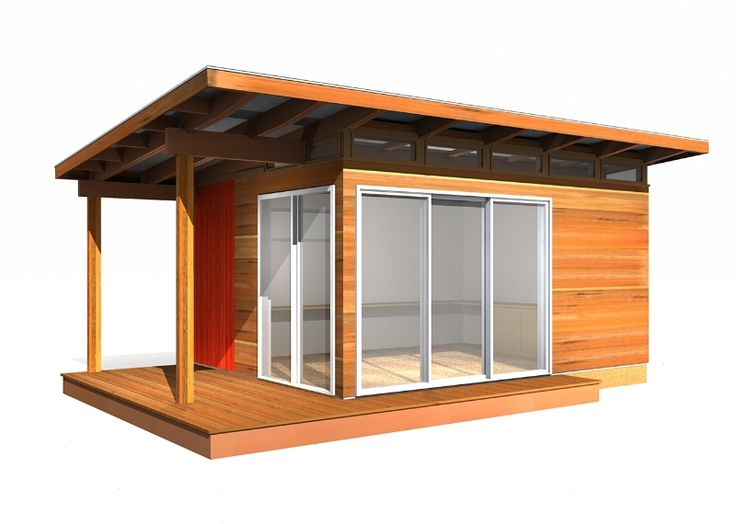 12' x 16' Prefab Shed Kit: By Modern-Shed                                                                                                                                                                                 More