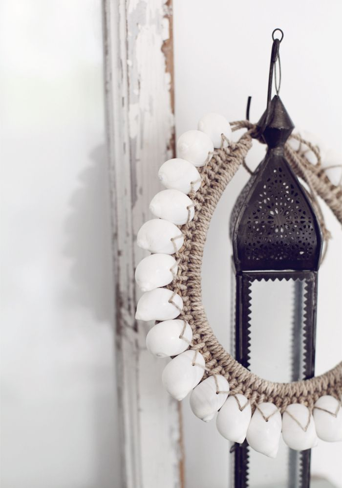 Bohemian beauty, is a shell necklace on your wish list?