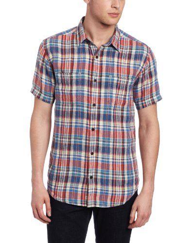Lucky Brand Men's Acoustic Plaid Long Sleeve Linen Shirt, Blue/Red, X-Large Lucky Brand,http://www.amazon.com/dp/B00BP1HH0Y/ref=cm_sw_r_pi_dp_MzlNsb10GF7V4X8F