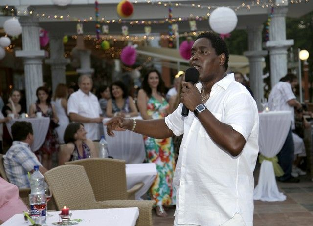 Caribic party with singer Lazaro, Hotel Kaskady #luxury #holiday #hotel #kaskady #party #fun #dance