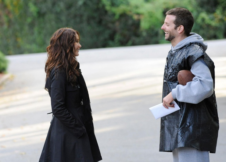 Jennifer Lawrence and Bradley Cooper in Silver Linings Playbook. Don't forget to check out SIlver Linings Playbook on Facebook at http://on.fb.me/PP0Qf3
