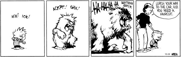 Calvin and Hobbes for October 28, 2017