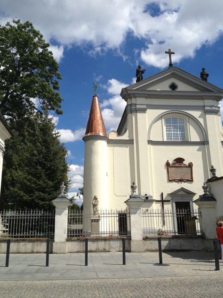 Węgrów w Poland