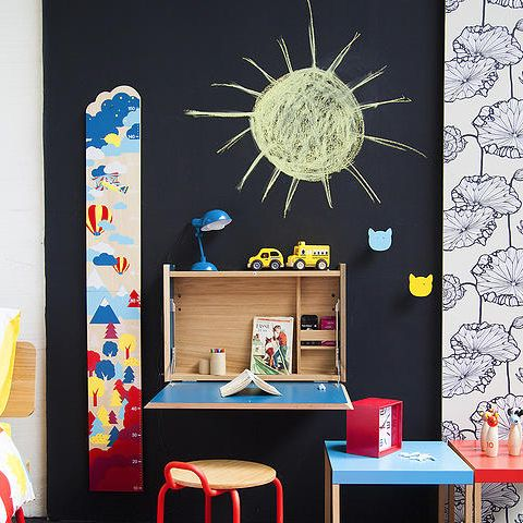 359 best images about d co chambre enfant sur pinterest lits superpos s ch - Secretaire mural ikea ...