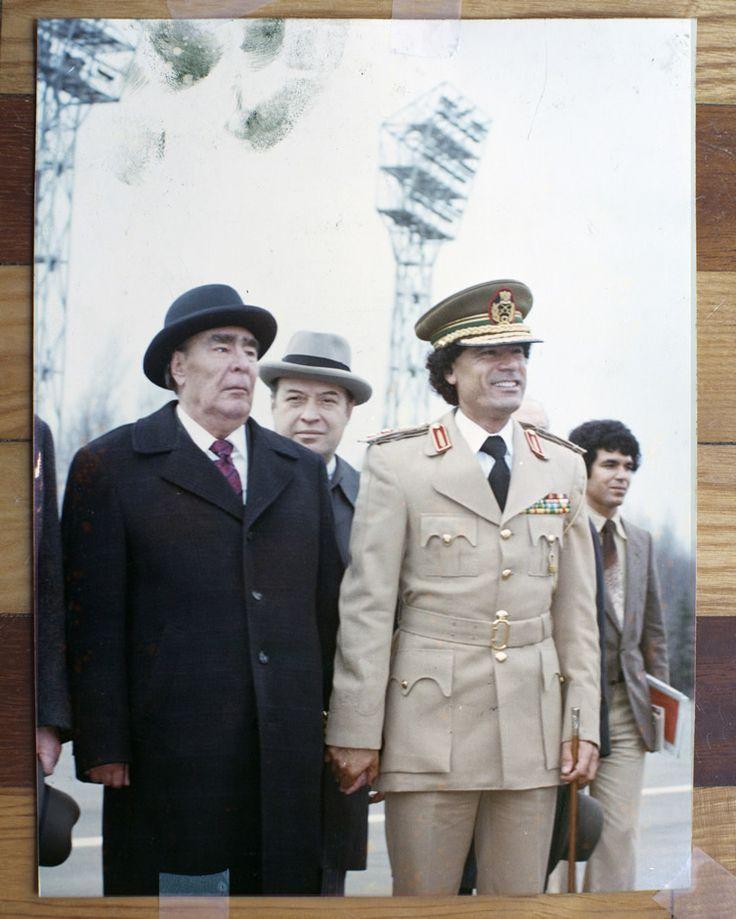 БРЕЖНЕВ И КАДДАФИ 1981 (Brezhnev ja Gaddafi)