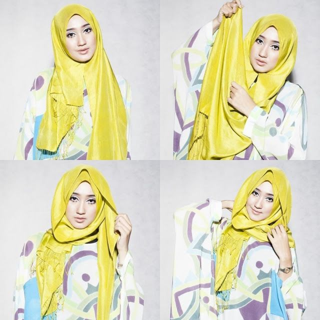 A simple #hijab style for everyday. www.hijab-ista.com