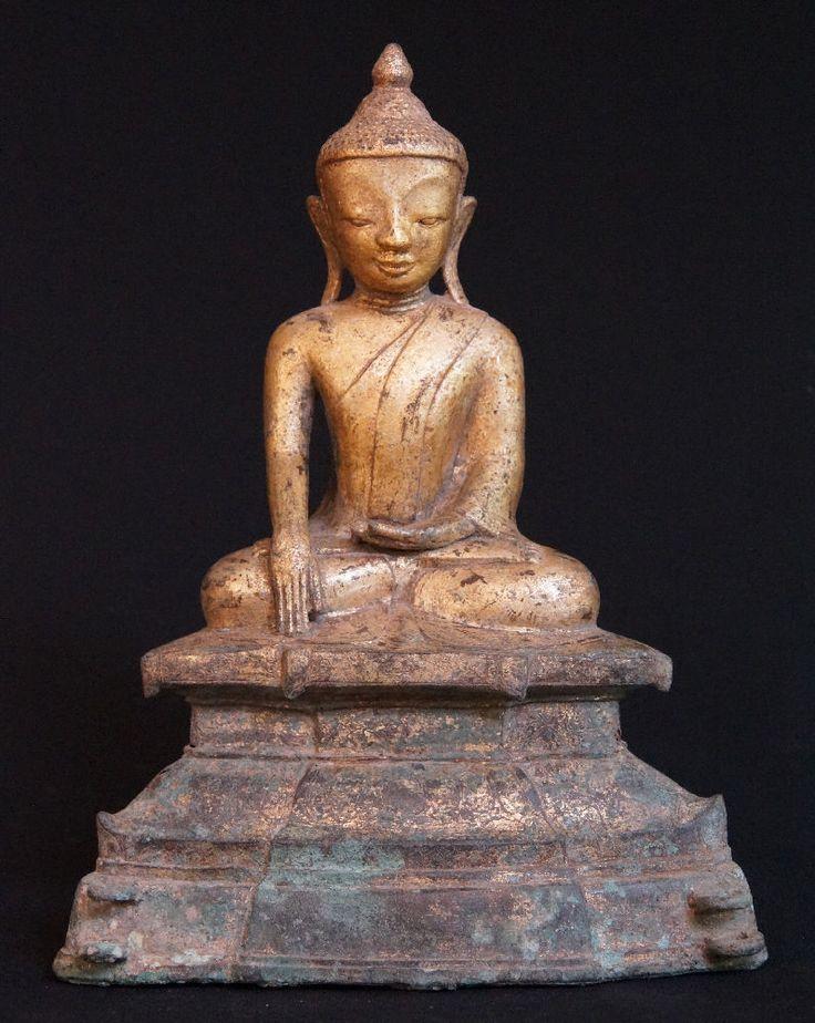 17th century Shan Buddha Statue for sale | Antique Buddha Statues #Burma