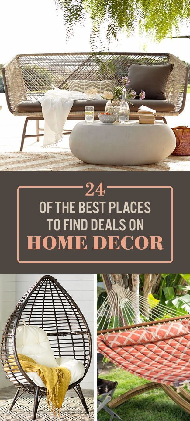 24 Of The Best Places To Find Deals On Home Decor Online