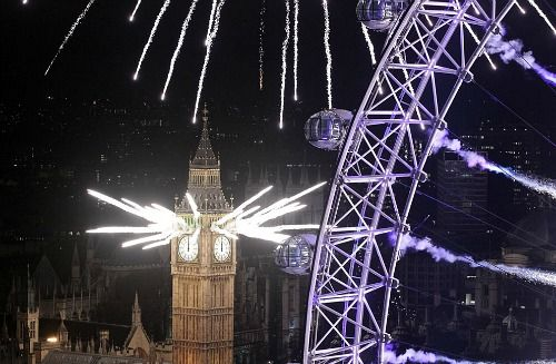 London - New Year's Eve