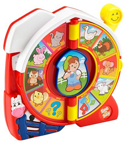 27 best jayden one year old toys images on pinterest children toys new fisher price see say the farmer says baby child toy play animals songs publicscrutiny Images
