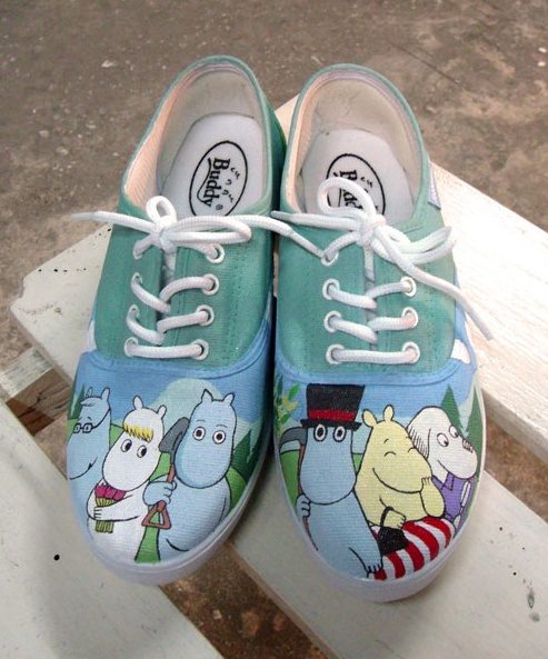 Moomin shoes by Annatar House