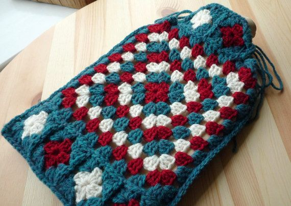 Crochet Granny Square Hot Water Bottle Cover Pattern : Pinterest: Discover and save creative ideas