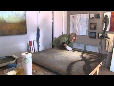 ▶ Deborah Bridges, sculptor and encaustic painter - YouTube  ------------scultura------