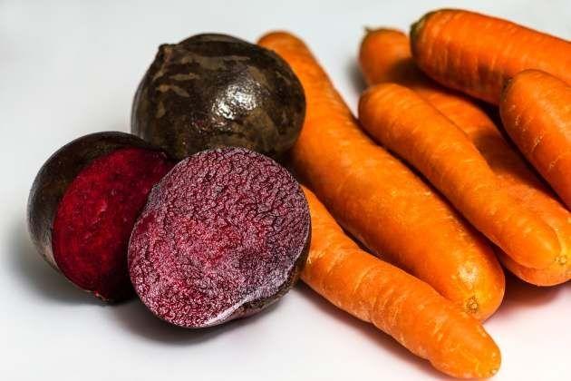 Салаты из моркови и картошки