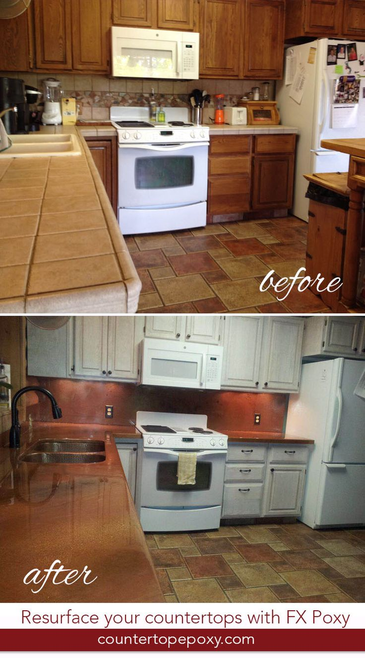 countertops after to resurfaced tile top and refinishing countertop resurface refinished bathroom before kitchen how photos counter