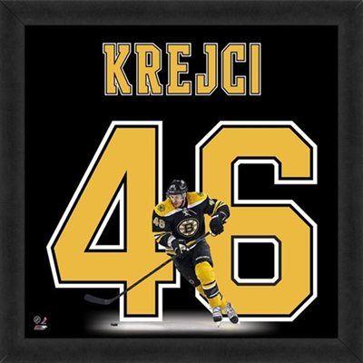 David Krejci Boston Bruins Players Uniframe