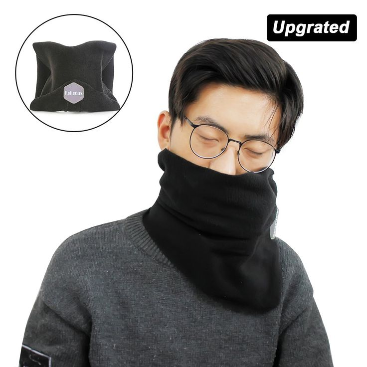 Lulutus Soft Travel Neck Support Pillow for Flights - Best Travel Accessories for Airplanes,Trains and Cars - New Arrival,Black