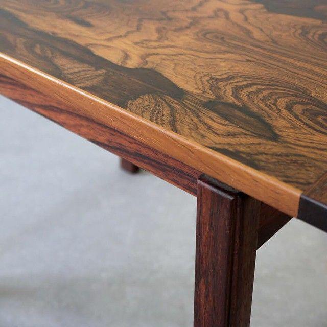 For Sale 1960s Rosewood Side or Coffee Table. H42cm L60cm D40cm #moderndesign #moderninteriors #modernclassics
