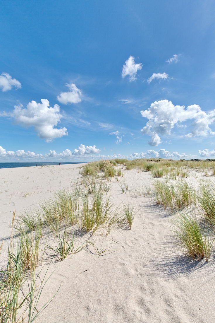 Dünen am Strand von List auf der Insel Sylt – Nordsee