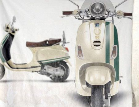 As part of Fred Perry centenary celebrations, the company has teamed up with Vespa to offer up a limited edition scooter.