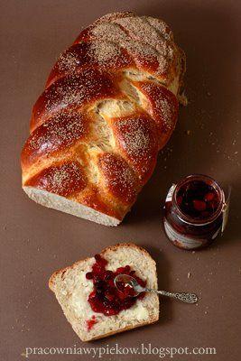Chałka, Poland | sweet braided bread