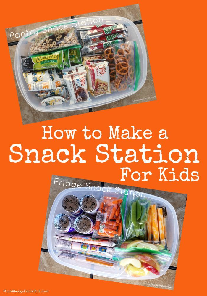 How to Make a Snack Station for Kids | Back To School Snack Ideas #BTFE (sponsored)