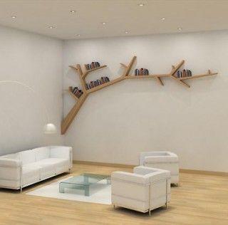 Étagères-branches d'arbres par Olivier Dollé | Décoration maison, meubles maison jardin et design intérieur sur Artdco.net