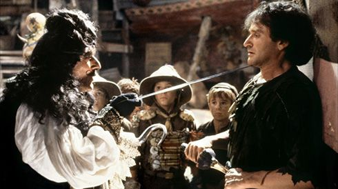 Hook - Robin Williams & Dustin Hoffman