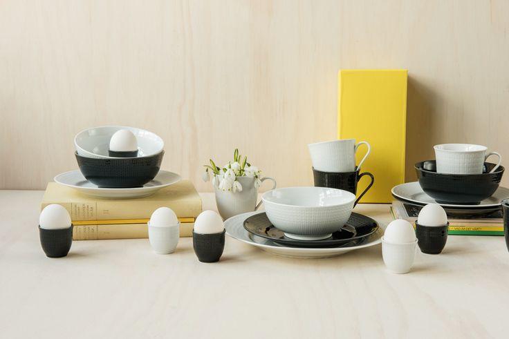 Swedish Grace fra Rörstrand har fått nye deler som gjør serviset perfekt også til frokosten. Se utvalget i din Designforevig-butikk!