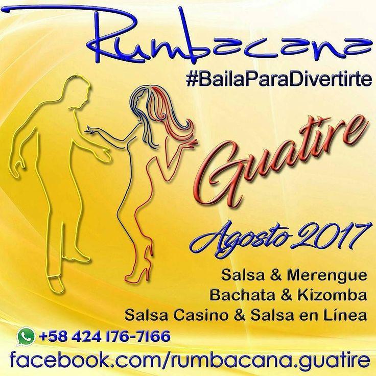 Rumbacana #BailaParaDivertirte En #Guatire #Castillejo #agosto #2017 #Academia #Baile #Bailar #Dance #Dancing #Bachata #Kizomba #Merengue #Salsa #SalsaCasino #SalsaEnLinea #Salsada