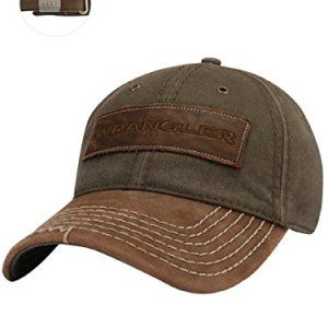 Jeep Wrangler Leather Patch Cap