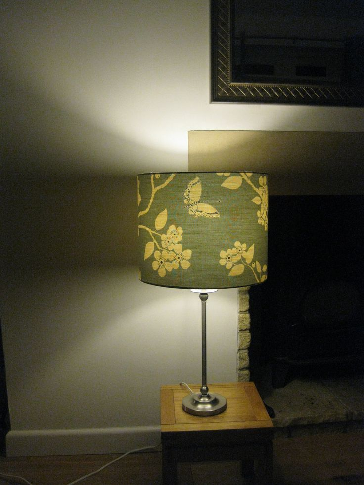 Flora and Fauna - Drum Lampshade