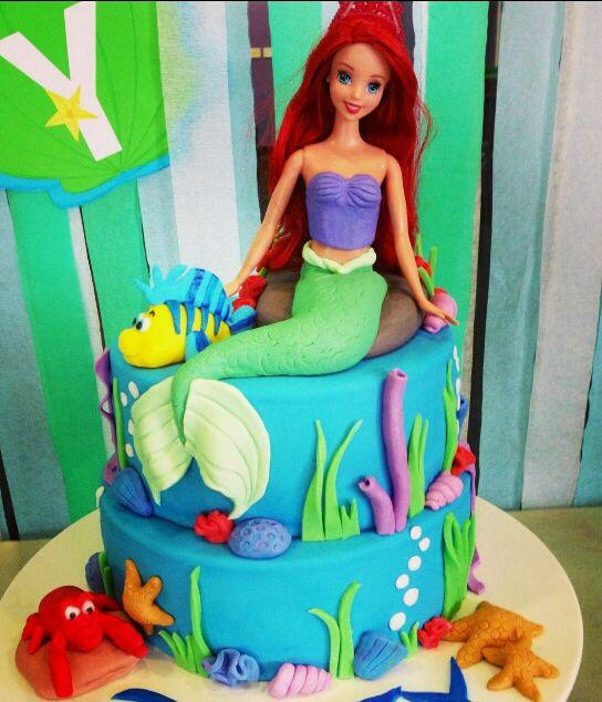 Little Mermaid cake - cake #7