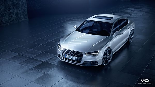 Audi A7 Sportback on Behance