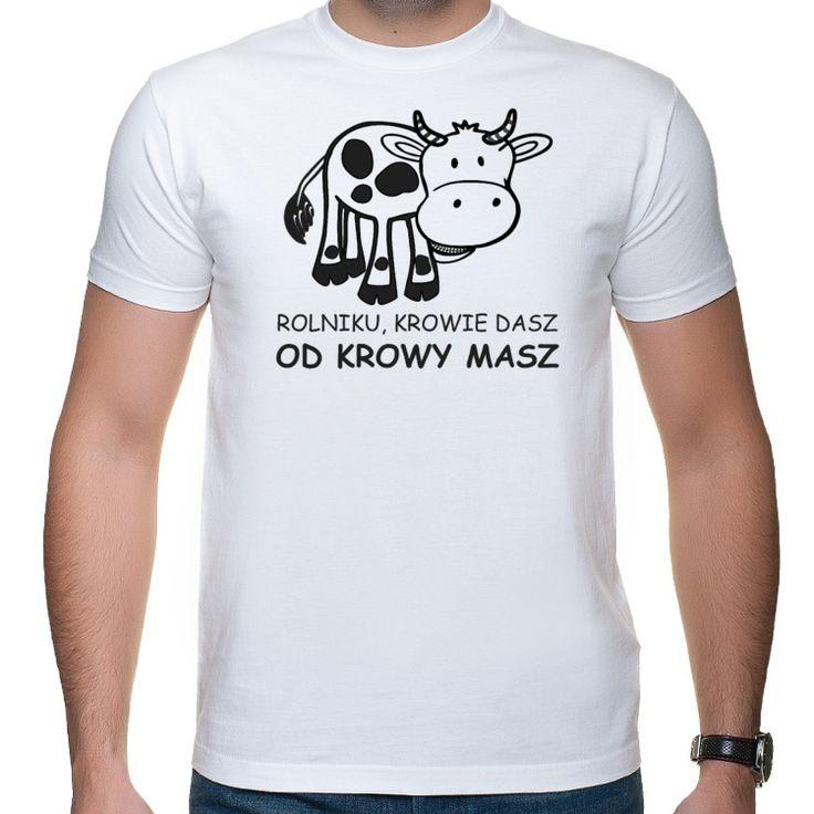 Rolnik - krowie dasz