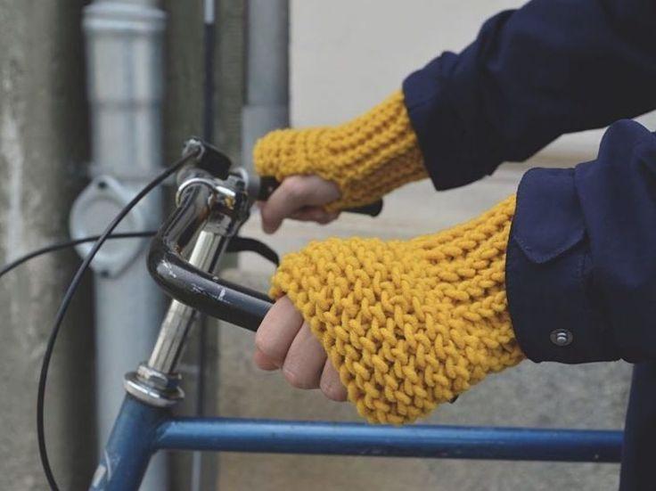 Tutorial fai da te: Come fare dei guanti senza dita in lana a maglia via DaWanda.com