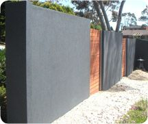 fence blueboard and rendered - Google Search