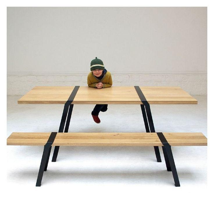 table pi,roderick fry,moaroom,moaroom marseille,atelier 159,table chêne massif, treteaux table,