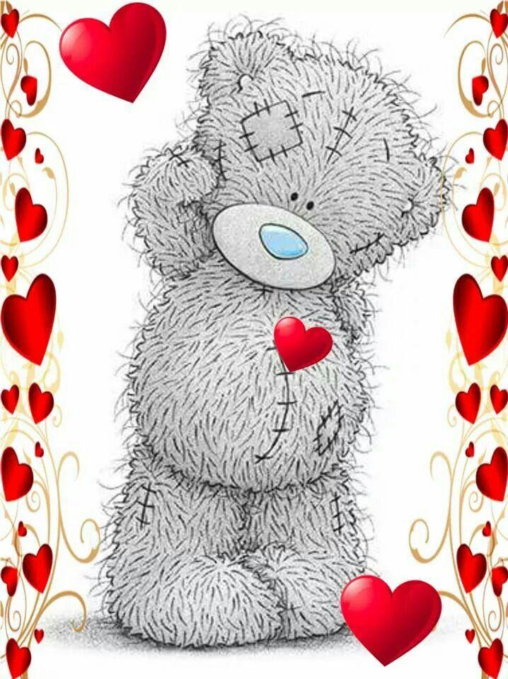 картинки про мишек с сердечками можете