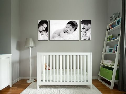 The pictures above crib